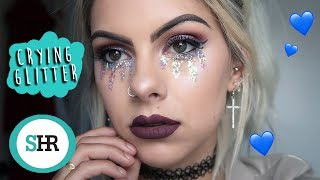 Download CRYING GLITTER FESTIVAL MAKEUP Mp3 and Videos