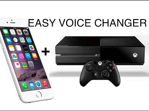 How To Make A Voicechanger For Xbox One With A Iphone Under 5 YouTube