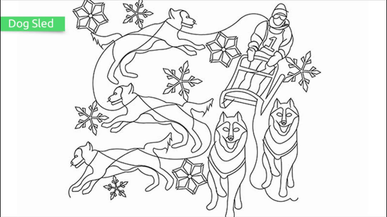 top 20 free printable winter coloring pages youtube