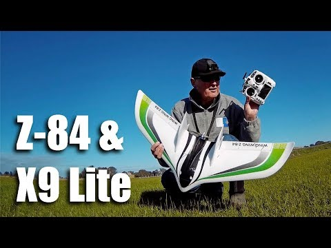 Wing Wing Z-84 And Taranis X9 Lite Maiden