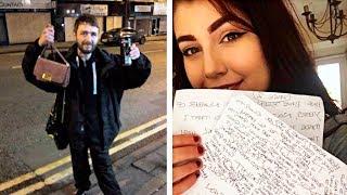 Бездомный нашел сумочку красивой девушки и решил ее вернуть. Он не ожидал что случилось потом...
