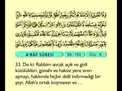 Fatih Çollak 8.cüz (Komple Video Hatim)