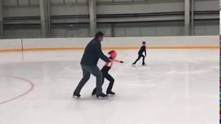 Тесты по скольжению Фигурное катание Figure Skating Реутов Арена