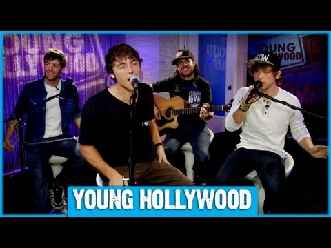 Emblem3 Performs CURIOUS at Young Hollywood - Acoustic!