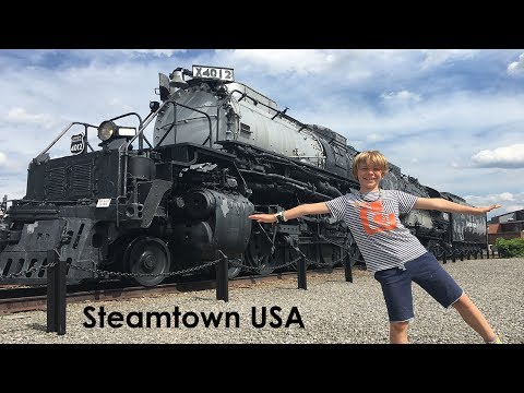 Tour of Steamtown National Historic Site - Scranton Pa