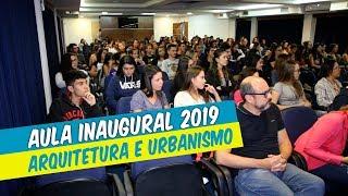 AULA INAUGURAL DE ARQUITETURA E URBANISMO