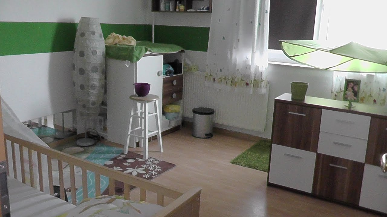 kinderzimmer roomtour update babyzimmer junge thema natur wald youtube. Black Bedroom Furniture Sets. Home Design Ideas