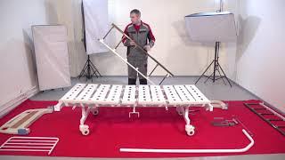 Инструкция по сборке медицинской функциональной механической кровати ''Армед'' RS105-B