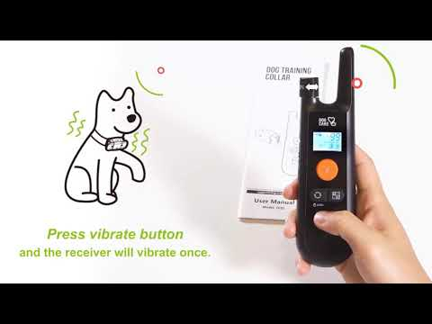 DOGCARE Dog Training Collar TC01 How  to use