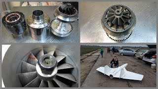 From the construction of the Turbo Jet engine to the flight - just one step