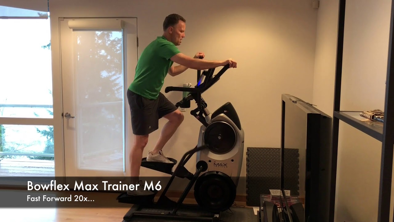 Try Bowflex Max >> Bowflex Max Trainer M6 Fitness Assessment