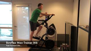 Bowflex Max Trainer M6 - Fitness Assessment