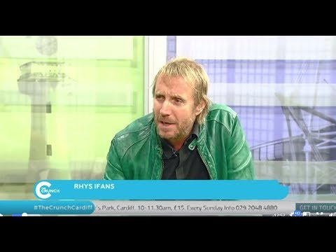 Rhys Ifans, Live Chat with #TheCrunchCardiff in The Made In Cardiff Studios