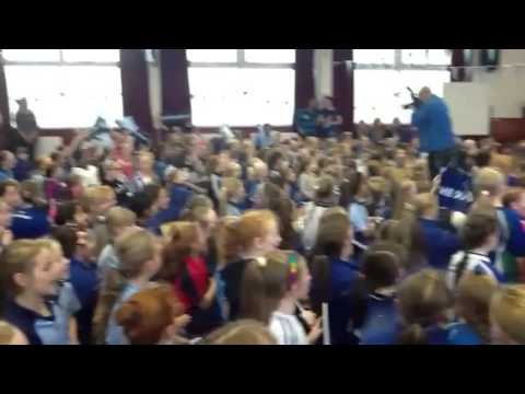 This is Sam Maguire Scoil Naomh Padraig Ballyroan