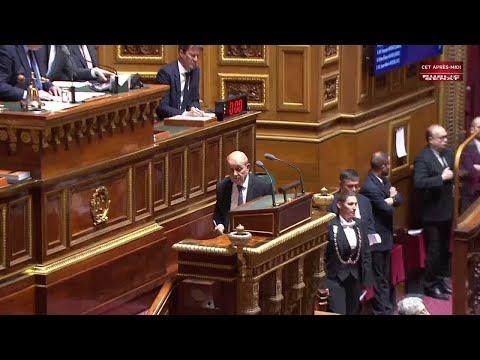 Frappes françaises en syrie : déclaration sans vote du gouvernement au S... - Sénat 360 (16/04/2018)