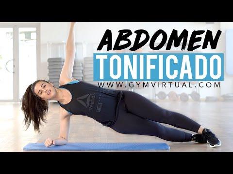 Abdomen tonificado | Rutina para tonificar y aplanar el vientre