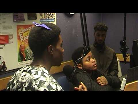 Brit School Nics Interview With DJ Rakeem on New Style Radio Birmingham 2017