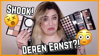 Full Face Makeup Revolution & First Impression 😵 Jolina Mennen