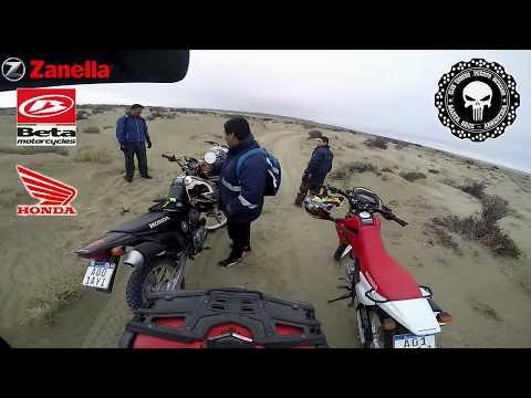 Salida a zona de dunas Puerto Deseado -Santa Cruz -Argentina 25/3/18