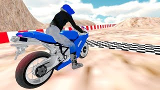 Motorbike Mountain Racing 3D by i6 Games - Gameplay Android free games - Bike Racing Games