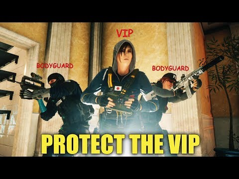 Protecting The VIP! - Rainbow Six Siege