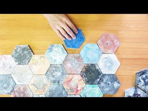 Weld a mould to make colourful tiles from plastic waste #preciousplastic