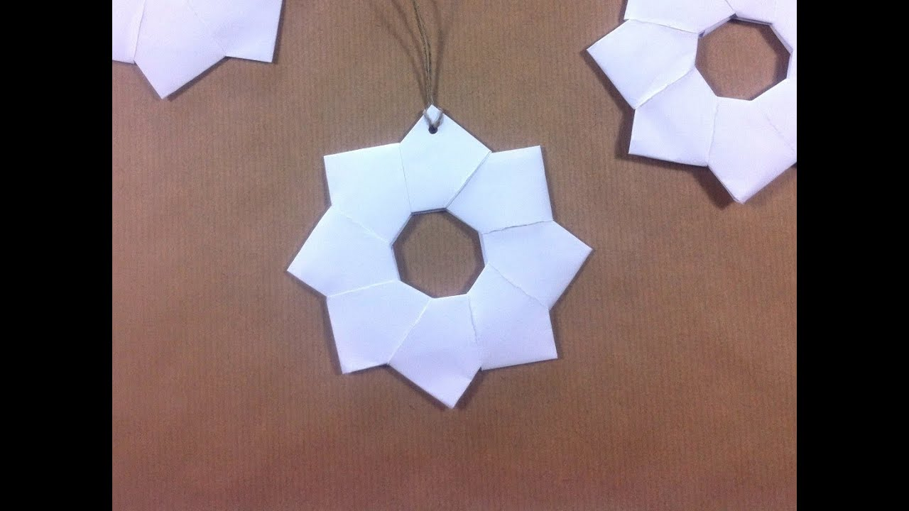 C mo hacer estrellas de papel japonesas para decorar la - Ideas para decorar estrellas de navidad ...