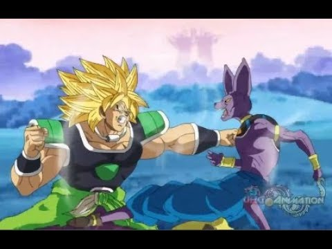 "Bills Vs Broly - ""El Verdadero Legendario Super Saiyajin"" Animación - Dragon Ball Super"