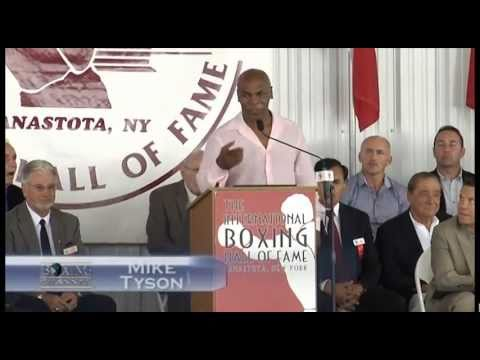 Boxing Hall of Fame Induction Ceremony of Mike Tyson, Julio Cesar Chavez and Kosta Tszyu PT.2