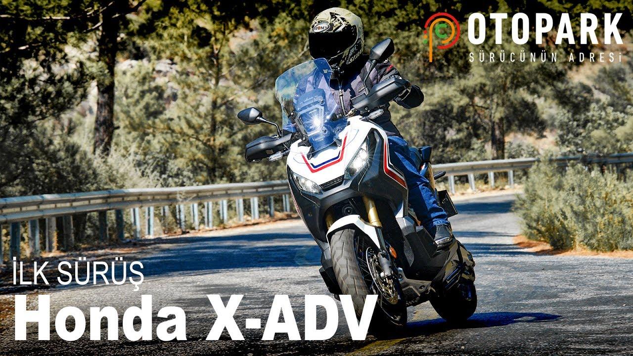 Honda X-ADV - Çift Kavrama Crossover Scooter | İlk Sürüş