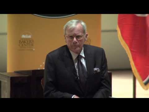 Tom Brokaw at University of Tennessee - Howard Baker Lecture Series