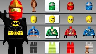LEGO Juniors Create & Cruise | All Character Unlocked Lego Ninjago vs Batman Cars Helicopter
