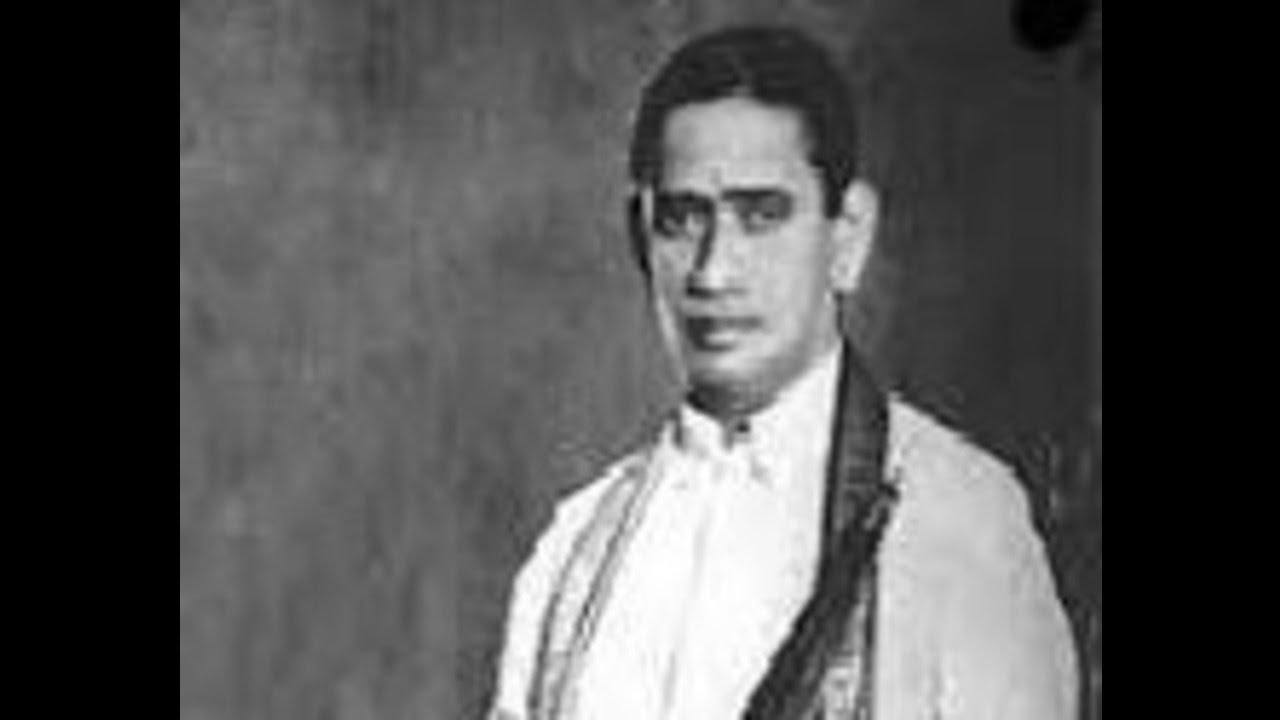 Scintilliating sounds of nadaswaram tn. Rajaratnam pillai.
