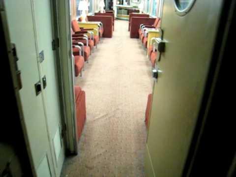 Walking Through Pullman Train Car Part I