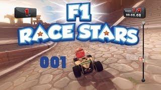 Let´s Play F1 RACE STARS #001 [Deutsch] [Full HD] - Der Einstieg