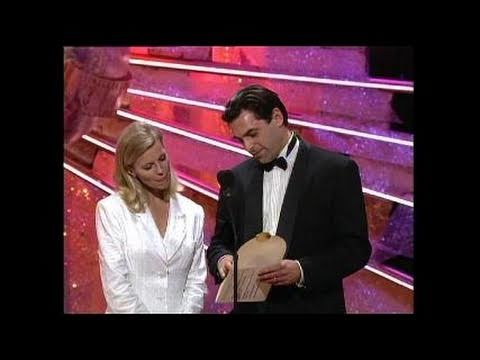 Barbara Hershey Wins Best Actress Mini Series  Golden Globes 1991