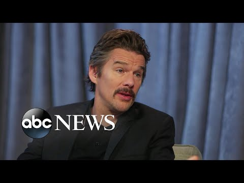 Ethan Hawke calls being a dad 'the best part of my life'