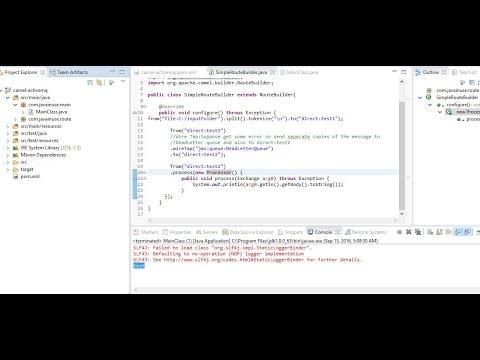 Apache Camel+JBoss Fuse Hello World