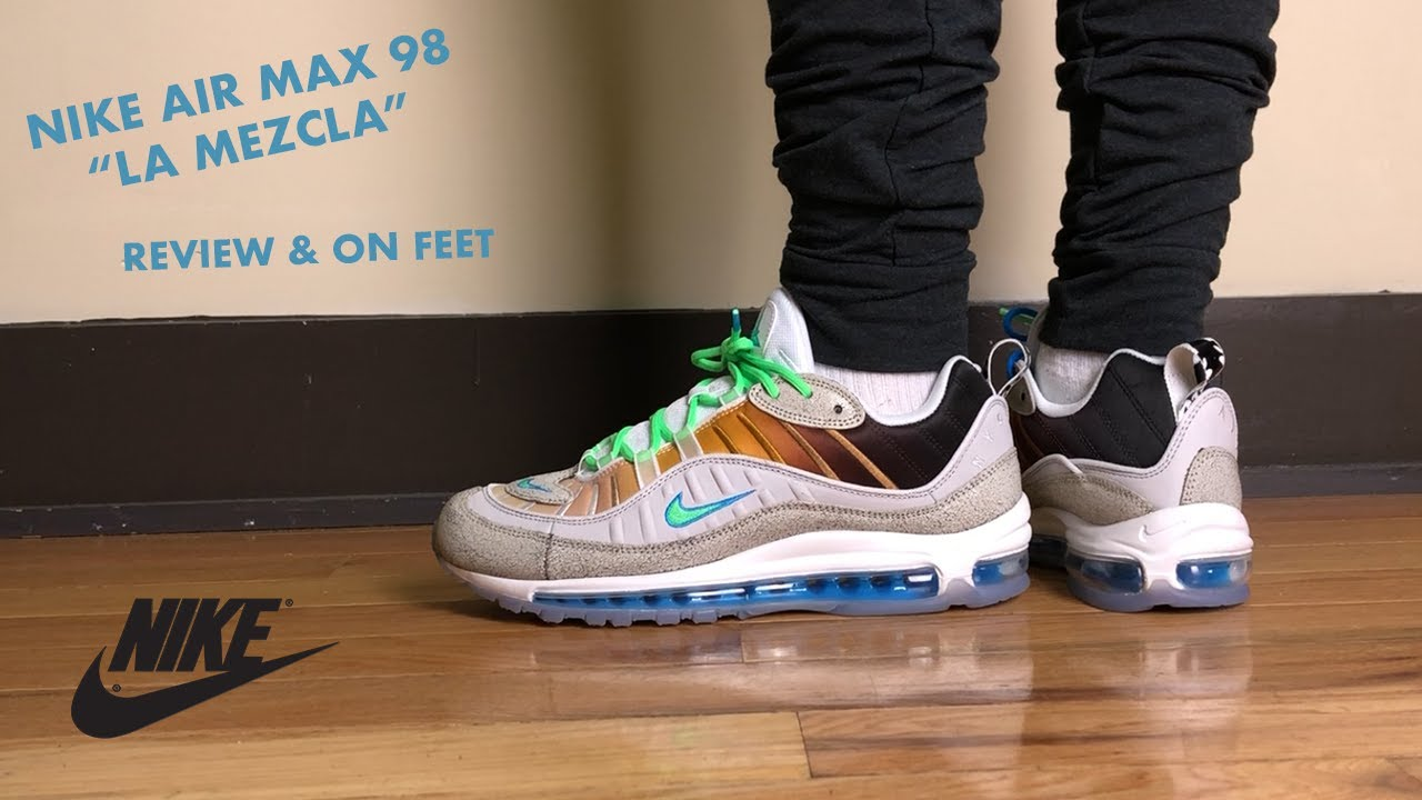 4a9b5f0bd214c Nike Air Max 98 La Mezcla On Air NYC by Gabrielle Serrano Review and ...