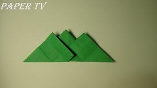 [Paper TV] Origami mountain 산 종이접기 折り紙 マウンテン como hacer montaña de papel