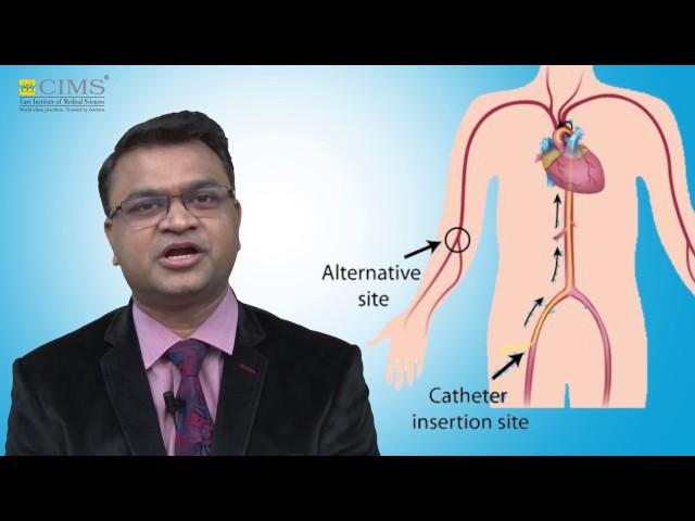 CIMS HOSPITAL - Dr. Satya Gupta - Radial Angiography And Angioplasty