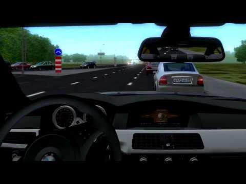 3D Инструктор. Свободное вождение. Вождение по городу. По правилам