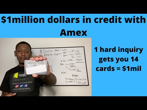 1 million dollars in credit with amex (why amex is the best)