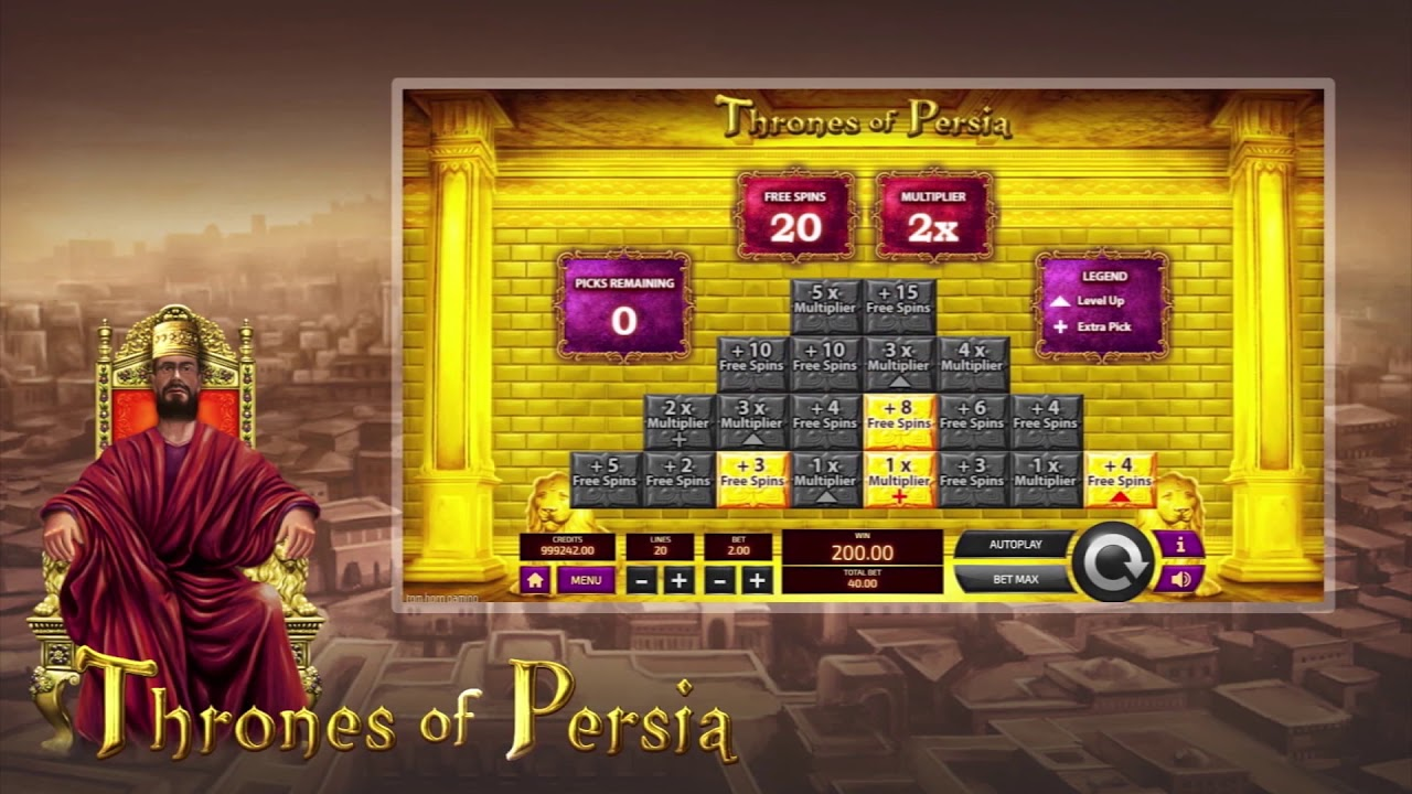 Thrones of Persia Slot Play Free ▷ RTP 98.8% & High Volatility video preview