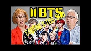 [русские субтитры] ELDERS REACT TO BTS - FAKE LOVE | rus sub | рус саб
