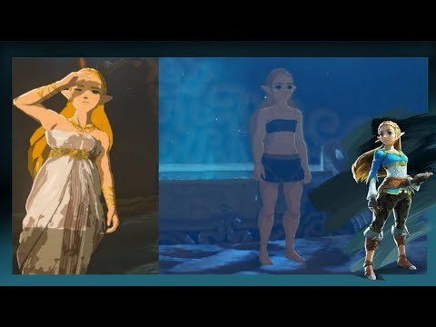 Zelda Wakes Up In The Shrine Of Resurrection