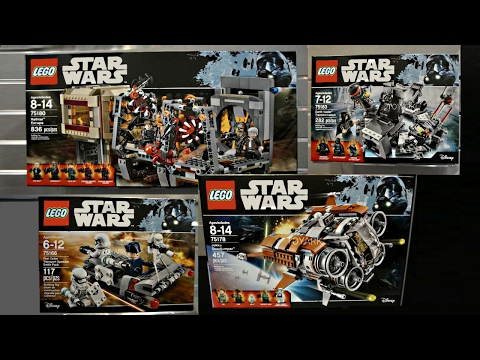 LEGO Star Wars 2017 Summer sets pictures - My Thoughts!