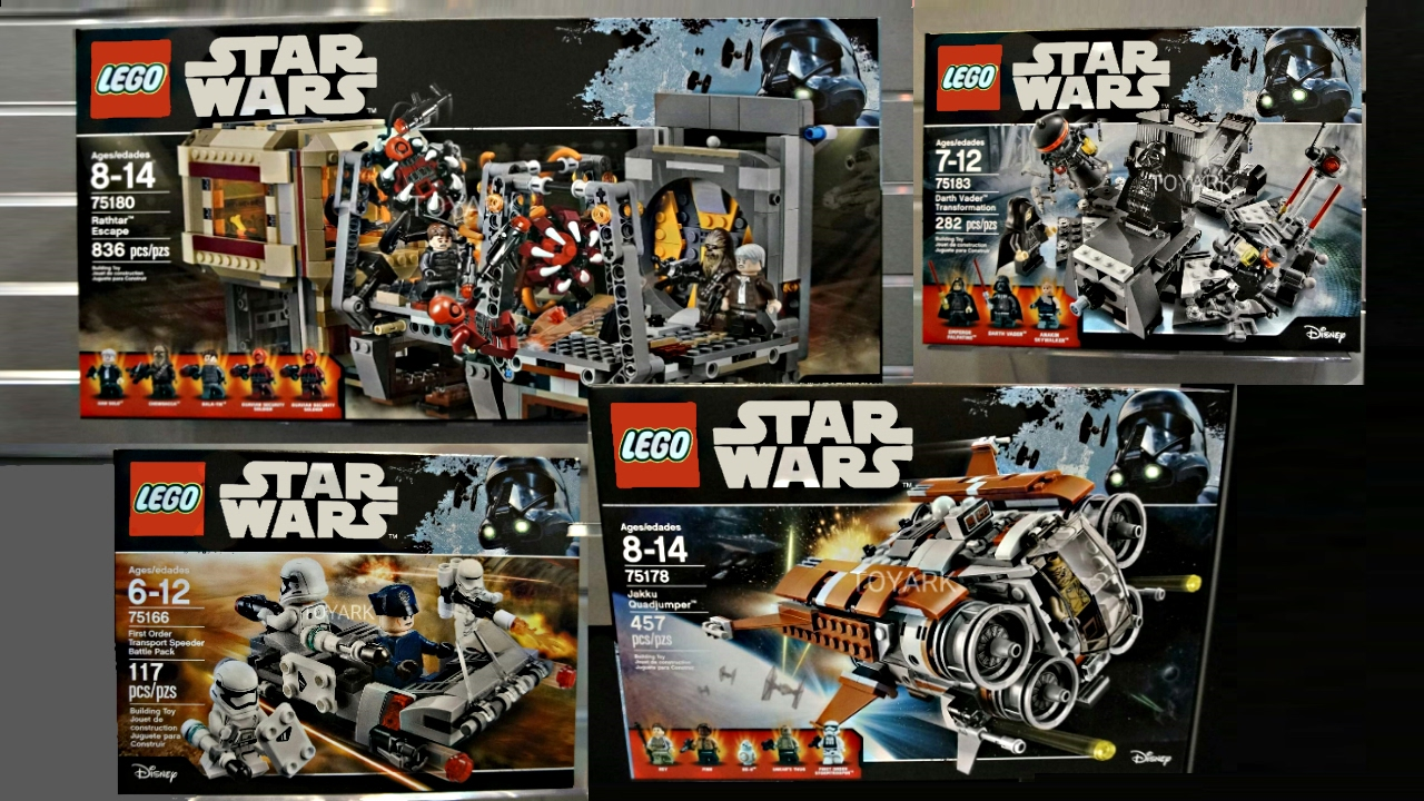 LEGO Star Wars 2017 Summer sets pictures   My Thoughts    YouTube