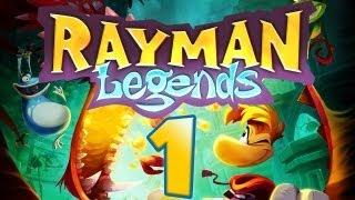 Let's Play Rayman Legends - Part 1 - Die Helden erwachen!
