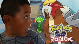 CI STIAMO CATTURARE NUOVI POKEMON!?!? Parte di Gameplay Roblox Pokemon GO (ROBLOX) 7